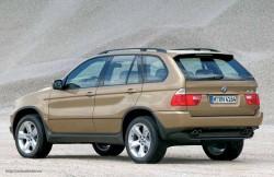 BMW X5 E53, внедорожник, авто, корпус