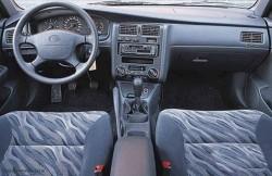 Toyota Carina, салон, японские автомобили, седан, japan