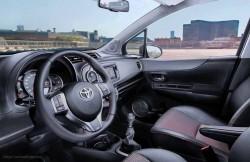Toyota Yaris, интерьер, Vitz, японские автомобили, japan, hatchback