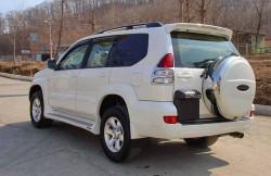 Тойота Лэнд Крузер Прадо, внедорожник, Япония, авто, машина, japancars