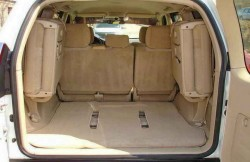 Тойота Лэнд Крузер Прадо, багажник, авто, japancars, Япония, машина