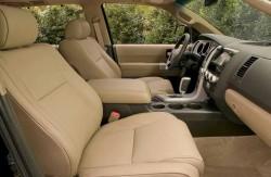 Toyota Sequoia, салон, внедорожник, японский автопроизводитель, машина, модель