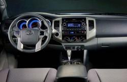 Toyota Tacoma, салон, пикап, японские автомобили, japan, передняя панель