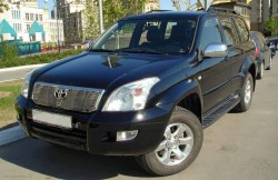 Toyota Land Cruiser Prado 120, japan, японские автомобили