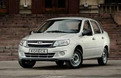 Lada Granta, АКП, седан, VAZ, машина, российский автомобиль
