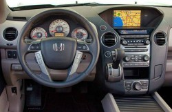 Honda Pilot, салон, машина, 7 мест, японский автомобиль