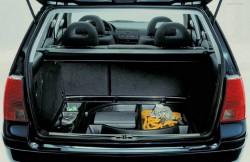Volkswagen Bora, багажное отделение, Германия, авто, фото, салон
