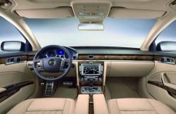 Volkswagen Phaeton, Германия, авто, представительский класс, внутренний дизайн