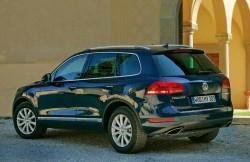 кроссовер, Германия, Volkswagen Touareg, авто, внедорожник