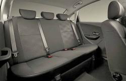 Nissan Almera, интерьер, машина, фото, японский автомобиль, задние сиденья
