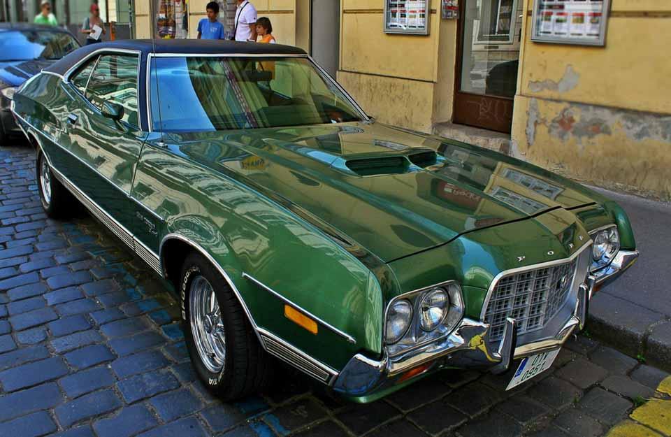Форд Гран Торино, седан, машина, Америка