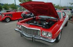 Форд Гран Торино, машина, седан, американские автомобили, мотор