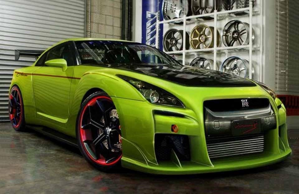 Ниссан GTR R35, Скайлайн, купе, автомобили, Япония, авто