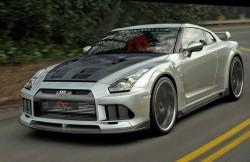 Nissan GTR R35, Skyline, машина, японский автомобиль, фото, дизайн