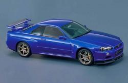 Ниссан Скайлайн R34, купе, автомобили, Япония, авто