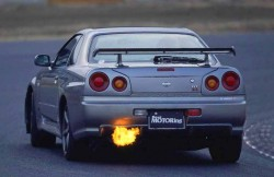 Nissan Skyline, R34, японские автомобили, машина