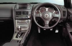 Nissan Skyline R34, передняя панель, интерьер, машина, фото, японский автомобиль
