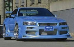 Nissan Skyline R34, машина, фото, японский автомобиль, дизайн
