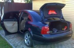 Фольксваген Пассат Б5, багажник, машина, фото, немецкие автомобили
