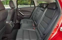 Мазда 6, машина, японские автомобили, пзадние сиденья, интерьер