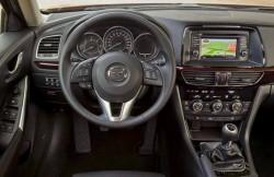 Мазда 6, машина, японские автомобили, передняя панель