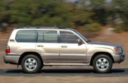 Toyota Land Cruiser 100, японские автомобили, интерьер, japan, Крузак