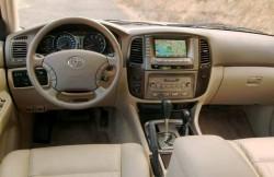 Toyota Land Cruiser 100, japan, интерьер, японские автомобили, Крузак