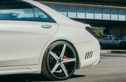Mercedes Benz S550, тюнинговое ателье Wald International, немецкие автомобили, машина, фото