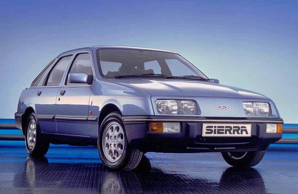 Форд Сиерра, седан, машина, Америка
