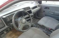 Интерьер Форд Сиерра, руль, сиденья, седан, машина, американские автомобили