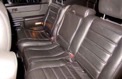 Hummer H2, заднее сиденье, внедорожник, американские автомобили, гражданский вариант, США, фото, авто