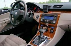 Volkswagen Passat B6, Германия, авто, седан, интерьер, руль, торпеда