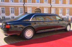 Автомобиль Аурус Сенат, лимузин, Россия