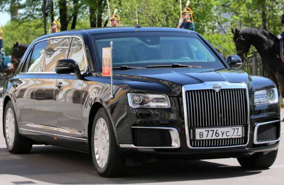 российский лимузин AURUS Senat