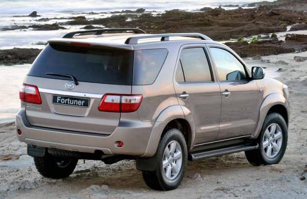 Toyota Fortuner — неприхотливый внедорожник