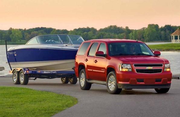 Chevrolet Tahoe — классика внедорожников