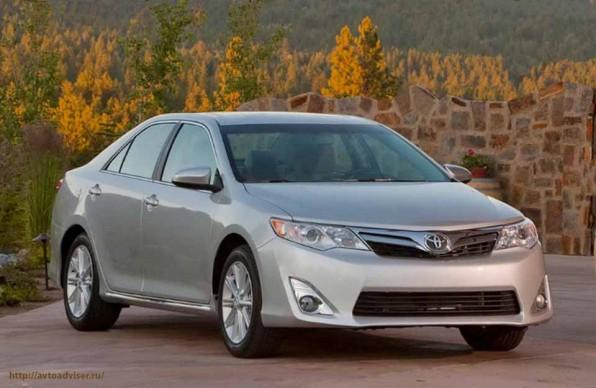 Изысканный седан бизнес-класса родом из Японии. Новая Toyota Camry