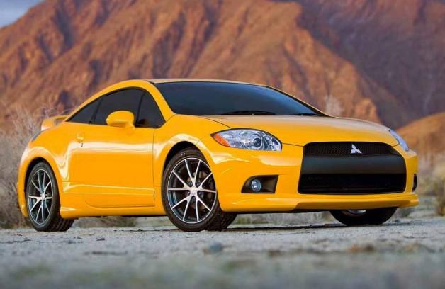 Динамичное спортивное купе Mitsubishi Eclipse