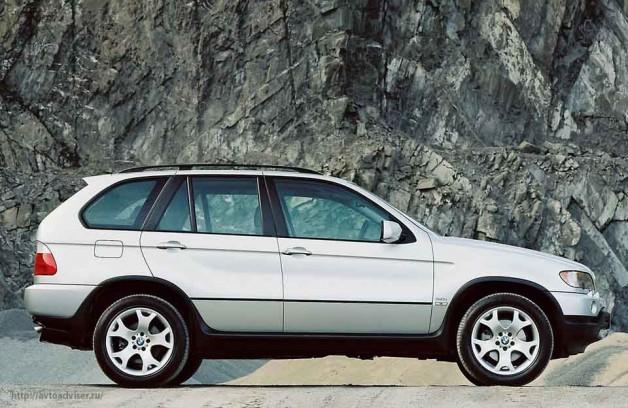 BMW X5 (E53). Первое поколение легендарного немецкого внедорожника