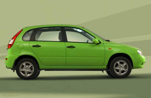 Lada Kalina – бюджетный народный автомобиль