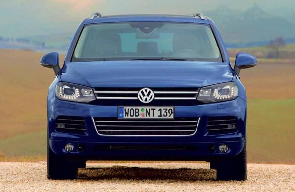 Volkswagen Touareg — один из последних вездеходов