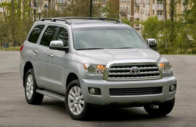 Toyota Sequoia – внедорожник-переросток